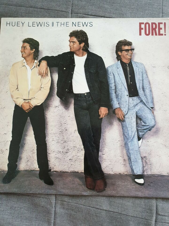 LP, Huey Lewis & The News, Fore!