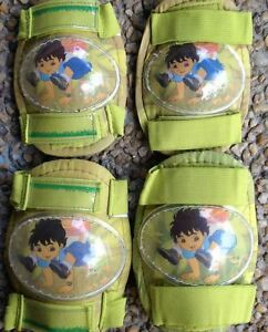 Kids-Boys-Roller-Skate-Skating-Scooter-KNEE-ELBOW-Protective-Gear-Pad-Go-Diego