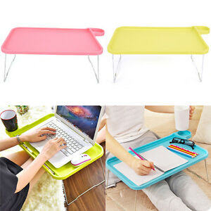 Plastic Computers Desk Lazy Table Multi-function Folding Table For Computer TSUS