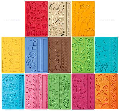 Wilton Fondant & Gum Paste Mold Imprinted Texture Cake Accent Choose Your Design