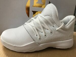 1256711d0d9 NEW ADIDAS JAMES HARDEN VOL 1 C SZ 3 KIDS PRE SCHOOL BY4435 WHITE ...