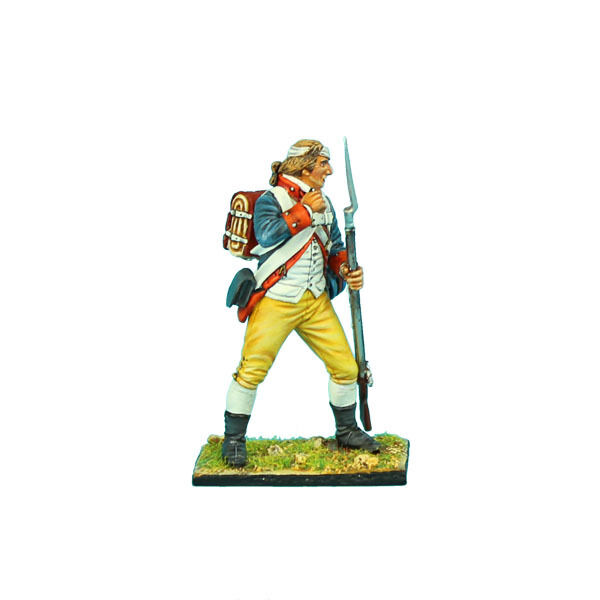 AWI064 Haslets 1st Delaware Standing Loading - Bandaged Head by First Legion