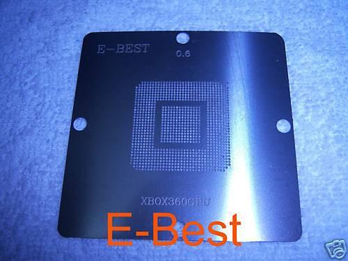 80X80 XBOX 360 XBOX360 GPU BGA Reball Stencil Template