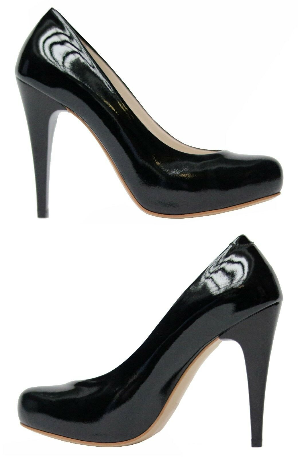 Muga Damen Schuhe Pumps Gr.40 Schwarz