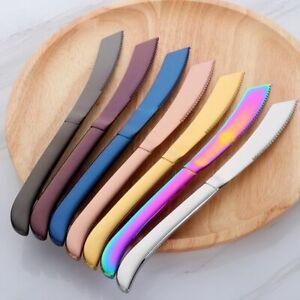 Table-Kitchen-Flatware-Dinnerware-Sharp-Cutlery-Stainless-Steel-Steak-Knife