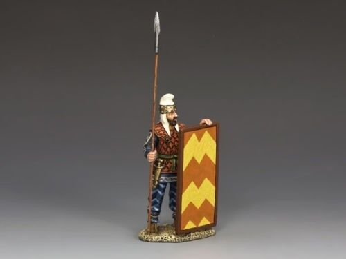 King & Country AG024  Persian Spearman Standing Ready
