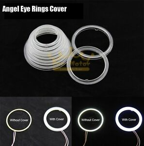 2pcs Special Cover for Car Motor LED Angel Eyes Chip On ...