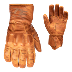 RST-IOM-TT-Hillberry-Classic-Leather-Riding-Gloves-CE-APPROVED-Tan