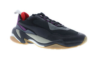 Puma-Thunder-Spectra-36751613-Mens-Black-Casual-Lace-Up-Low-Top-Sneakers-Shoes