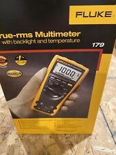 New Listingfluke 179 True Rms Digital Multimeter With Temperature Brand New