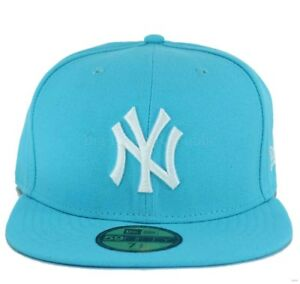 New Era MLB 59Fifty NY New York Yankees Fitted Baseball Cap Hip Hop ... 14495164892