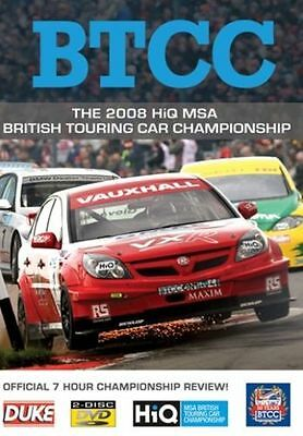 BTCC British Touring Car Championship - Official Review 2008 (New 2 DVD set)