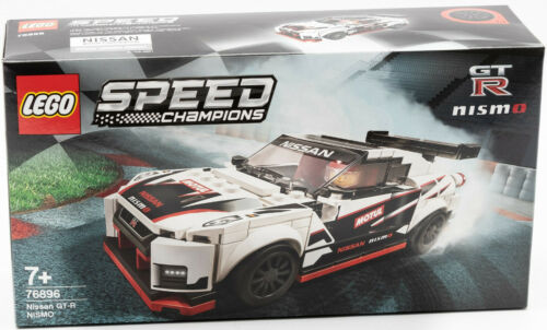 Lego 76896 OVP Speed Champions Nissan GT-R Nismo Rennwagen Sportwagen NEU