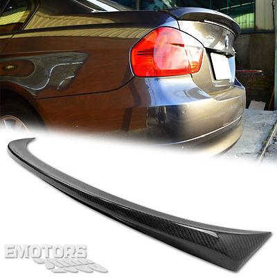 Carbon For BMW E90 3-SERIES 4D M Tech Style Trunk Spoiler328xi 320i 335d 11
