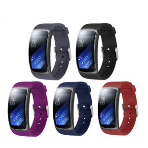 US-Replacement-Wrist-Band-Silicone-Strap-Bracelet-For-Samsung-Gear-Fit2-Pro
