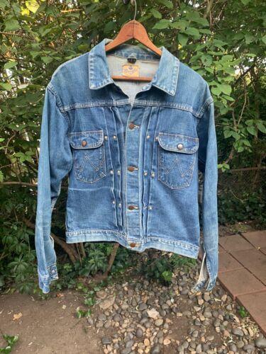 50s Denim Jacket Blue Bell Wrangler 111MJ Vintage