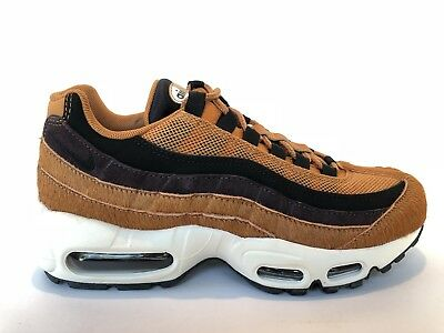 NIKE WMNS AIR MAX 95 LX PONY HAIR AA1103 200 CiderTarSailBlack Sz 7 Sample | eBay