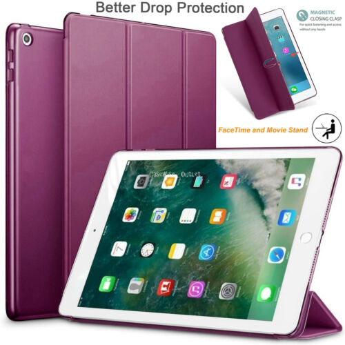 """Smart Magnetic Folding Flip Cover Case For Apple iPad 9.7/"""" 6th Generation 2018"""