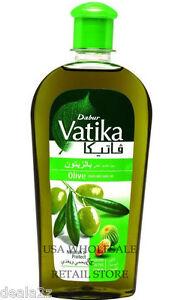 Details about 6 - 200ml - 7oz Dabur Vatika Olive Hair Oil hair USA  Wholesale & Retail Store