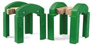 BRIO-World-33253-Stacking-Track-Supports-2-Piece-Toy-Train-Accessory-for
