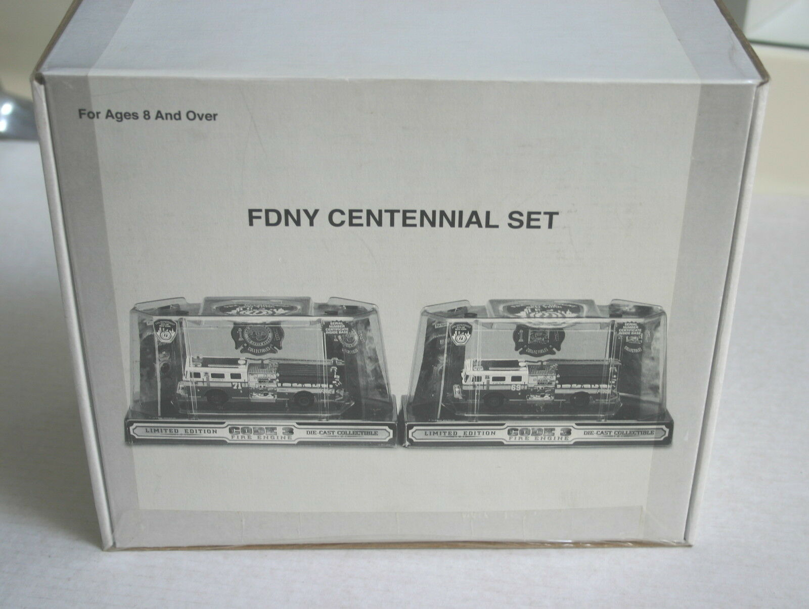 1 64 CODE 3 FDNY NEW YORK SEAGRAVE CENTENNIAL SET E.71 E.69 NEW IN SEALED BOX