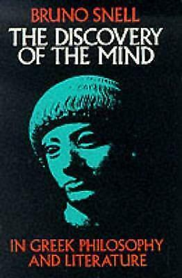 1 of 1 - The Discovery of the Mind in Greek Philosophy and Literature, Acceptable, Bruno