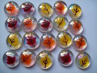 Glass Gems Hp Party Favors Mini Art Thanksgiving Fall Leaves Leaf Fall Decor