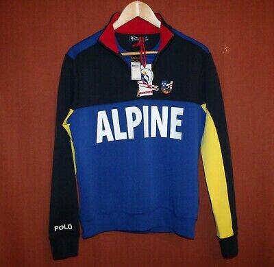 Lauren 92 Downhill Polo Half Skier Zip Sweatshirt Ralph Alpine Men's l3TJuFKc1