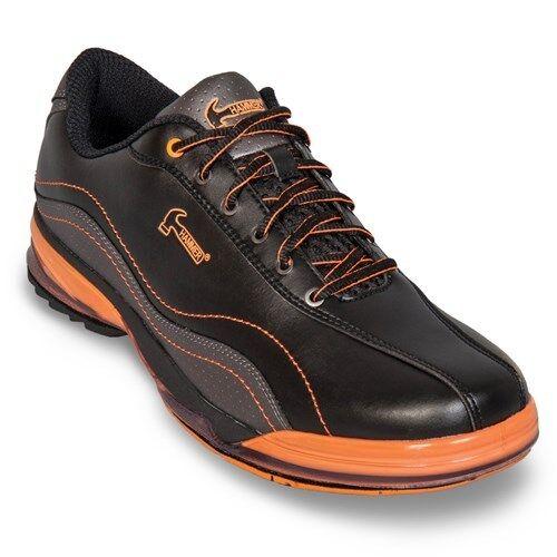 Hammer Fuerza Negro Naranja Hombre Mano Derecha Intercambiable Bowling Zapatos