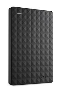 New Seagate Expansion 2TB Black USB2.0/3.0 Portable Backup Hard Drive