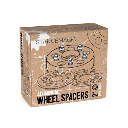 "25mm 1/"" Hubcentric 5x100 Wheel SpacersScion FRS FR-SGT86Subaru BRZ"