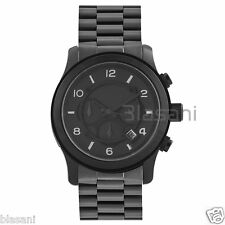 Michael Kors Original MK8157 Men's Runway Oversized Black Chronograph Watch 45mm