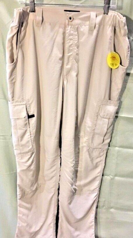 Men's Railrider Versatrac Pants. Stone. Size XL. NEW