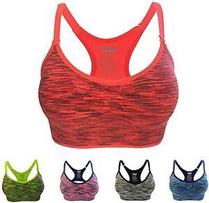 Women-Yoga-Fitness-Workout-Tank-Top-Racerback-Stretch-Padded-Sports-Bra-LOT