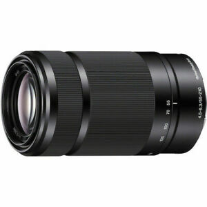 SONY SEL55210/B 55-210mm f/4.5-6.3 Aspherical IS OSS Lens (Black)