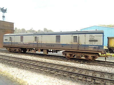 Bachmann Br Mk1 Guv Van Blue/grey E93736 (lineside Weathered) 39-274a