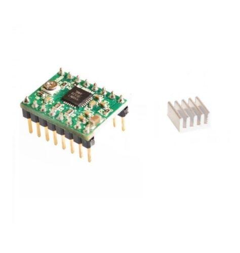 2PCS StepStick Stepper Motor A4988 Driver Module For Reprap 3D Printer SF