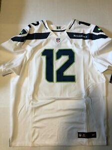 sports shoes 12e5f 0c768 Nike Seattle Seahawks Fan #12 Elite Football Jersey Size 52