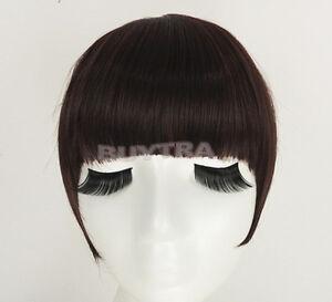 Terrific-Fringe-Clip-In-On-Bangs-Straight-Hair-brown-black-faux-hair-RSB-P-Kj