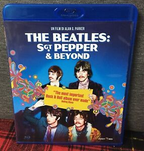 The-Beatles-Sgt-Pepper-amp-Beyond-Blu-Ray-Come-Nuovo-Vedi-Foto-e-Sergent-N