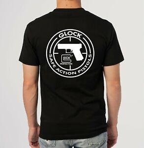 Glock Perfection Handgun Pistol Logo T-Shirt Size S M L XL 2XL 3XL 4XL 5XL