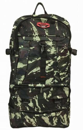 Militär Rucksack groß XXL Camouflage Tarnfarbe Reiserucksack Sport Tasche 1338