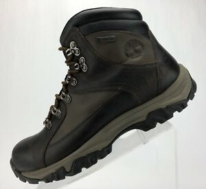 f7427ba2c Image is loading Timberland-Thorton-Gore-Tex-Hiking-Boots-Brown-Leather-
