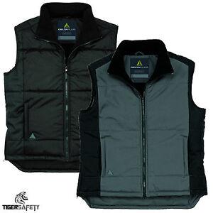 Delta-Plus-Panoply-Fidji-Mens-Fleece-Lined-Padded-Bodywarmer-Gilet-Coat-Jacket