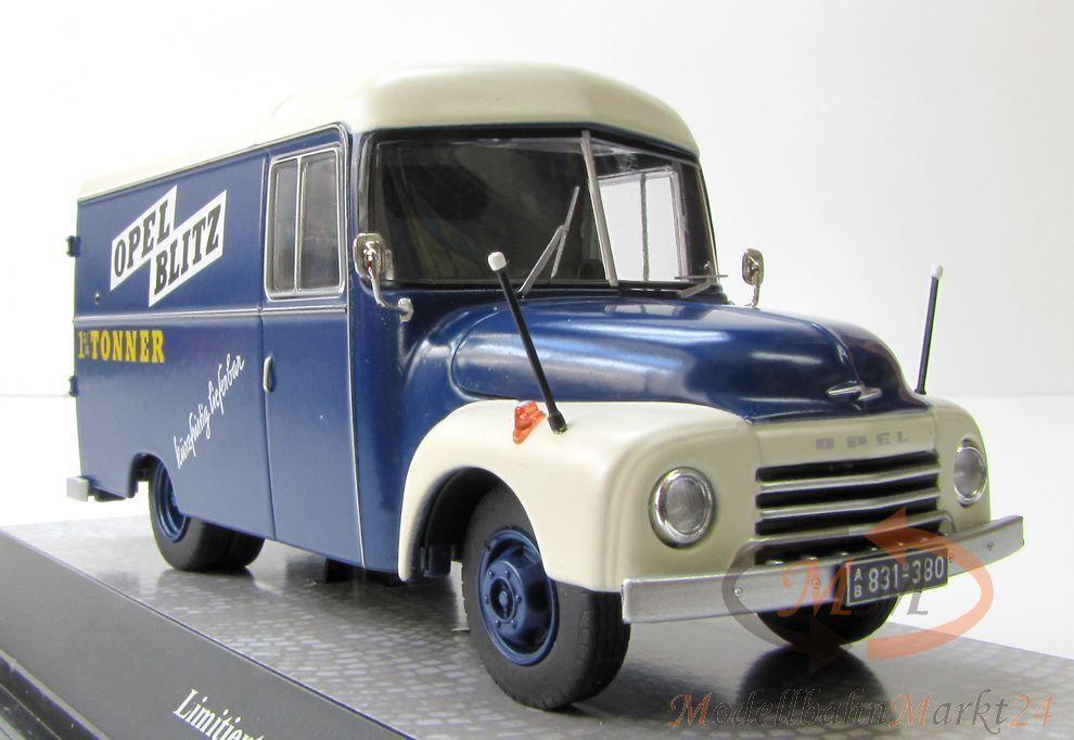 PREMIUM CLASSIXXS Opel Blitz 1,75 Tonner Werbewagen Scale 1 43 - limitiert