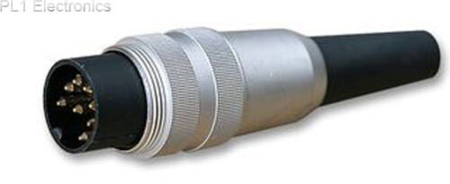 DIN 8way recto Lumberg-Sv80-Plug