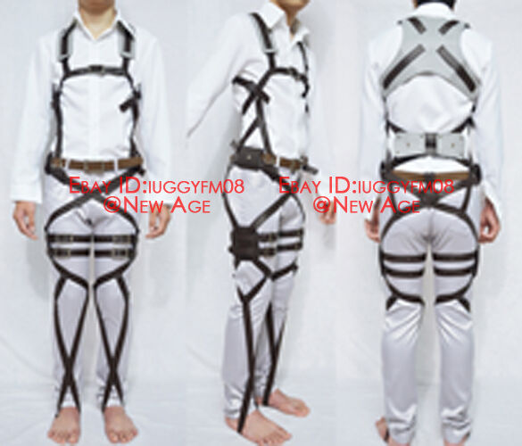 Attack on Titan Corps 3-D Maneuver Gear Belts System Cosplay Eren Mikasa Levi