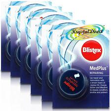 6x Blistex MedPlus Med Plus Repairing 7ml Soothe Cool Protect