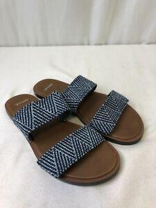 Sanuk Women's Gora Gora TX Sandals Navy/Grey Size 6