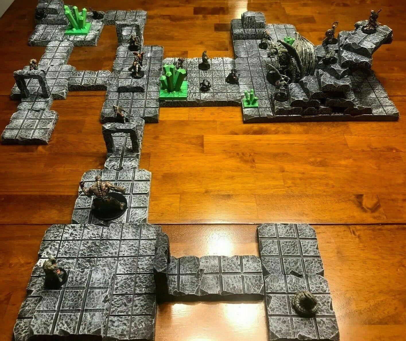 Grödtan Dungeon Terran Set 28mm Dungeons och drakes Pathfinder d &d wargamin